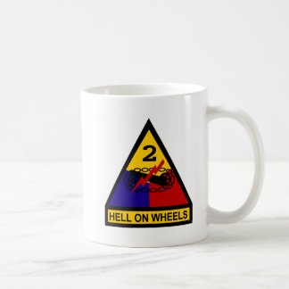 2nd AD Class A Shoulder Patch Classic White Coffee Mug