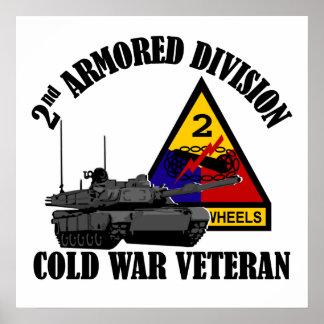 2nd AD Cold War Vet Poster