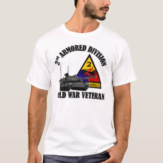 2nd AD Cold War Vet T-Shirt