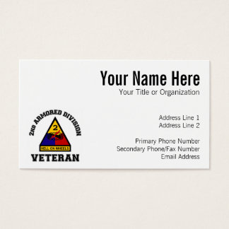 2nd AD Vet - College Style Business Card