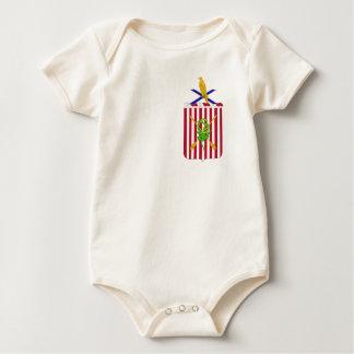 2nd Air Defense Artillery Regimental Coat of Arms Baby Bodysuit