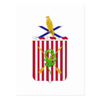 2nd Air Defense Artillery Regimental Coat of Arms Post Cards