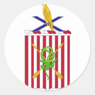 2nd Air Defense Artillery Regimental Coat of Arms Sticker