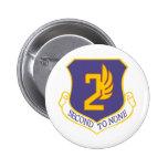 2nd Air Force Pins