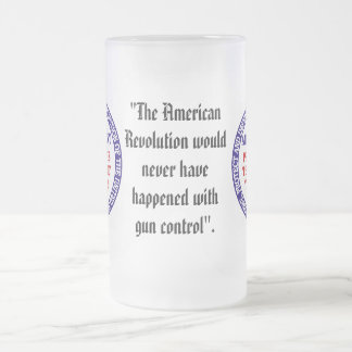 2nd Amendment_1/58 Frosted Glass Beer Mug
