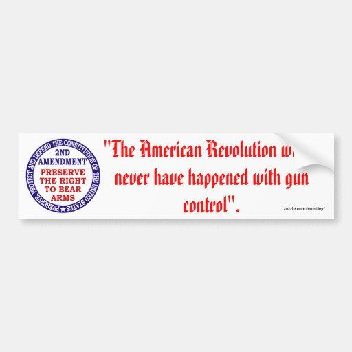 2nd Amendment_1/61 Bumper Sticker