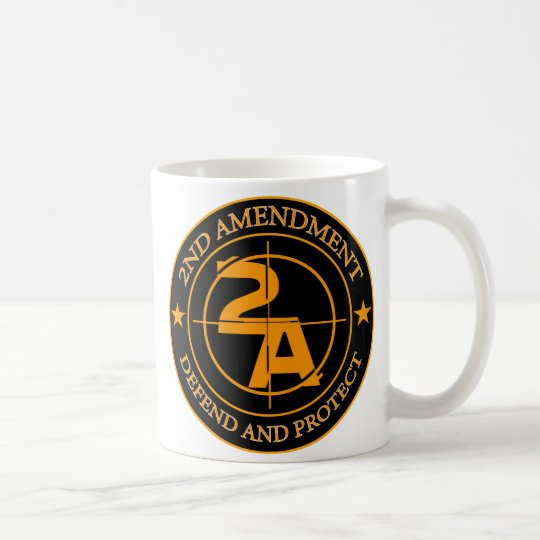 2nd Amendment 3 Coffee Mug