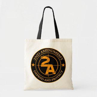 2nd Amendment 3 Tote Bag