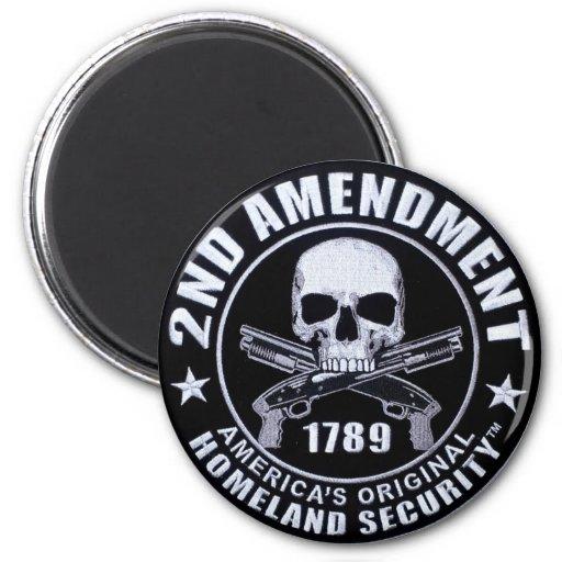 2nd Amendment America's Original  Magnet