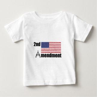 2nd Amendment AR Rifles A and Flag Baby T-Shirt