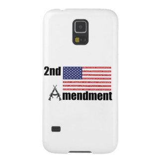 2nd Amendment AR Rifles A and Flag Case For Galaxy S5