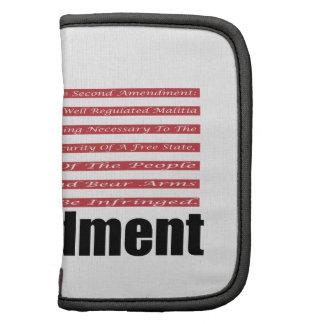 2nd Amendment AR Rifles A and Flag Folio Planner