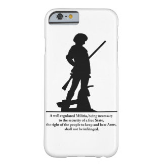 2nd Amendment Barely There iPhone 6 Case