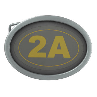 2nd Amendment Belt Buckle