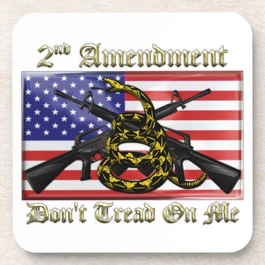 2nd Amendment Beverage Coaster