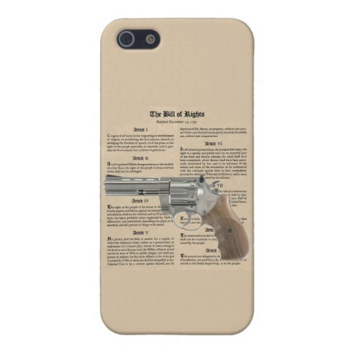 """""""2nd Amendment"""" """"Bill of Rights"""" iPhone 5/5s Case"""