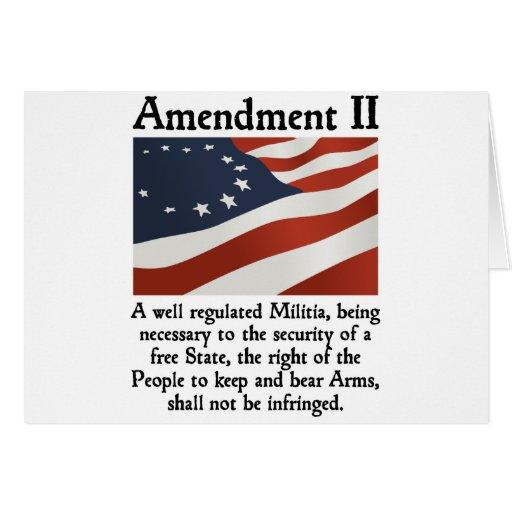 2nd Amendment Card