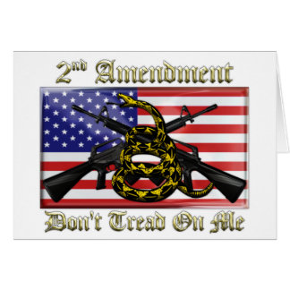 2nd Amendment Card