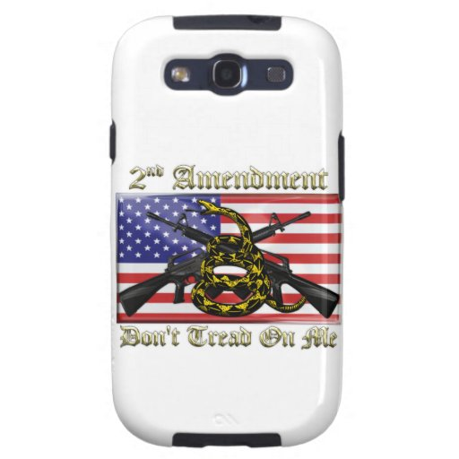 2nd Amendment Galaxy SIII Cases
