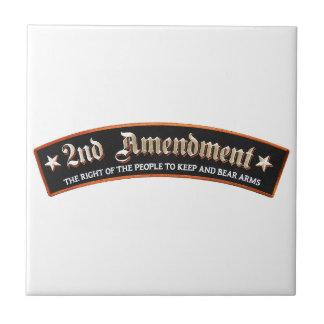 2nd amendment ceramic tile