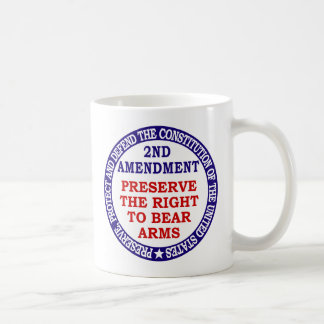 2nd Amendment Circle Keep & Bear Arms Coffee Mug
