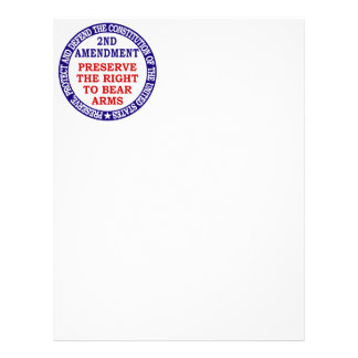 2nd Amendment Circle Keep & Bear Arms Flyer