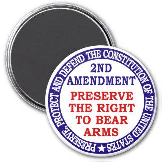 2nd Amendment Circle Keep & Bear Arms Magnet