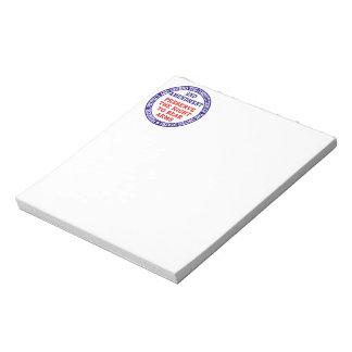 2nd Amendment Circle Keep & Bear Arms Notepad