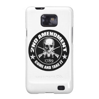 2nd Amendment Come And Take It Skull And AR's Samsung Galaxy S2 Cover