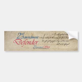 2nd Amendment Defender bumper stickers