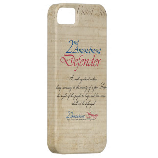 2nd Amendment Defender cell phone cases