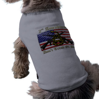 2nd Amendment Doggie T Shirt