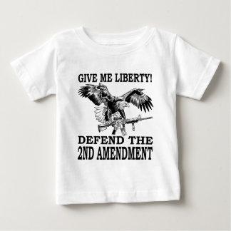 2nd Amendment Eagle Baby T-Shirt