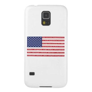 2nd Amendment Flag Case For Galaxy S5