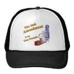 2nd amendment gun permit trucker hat