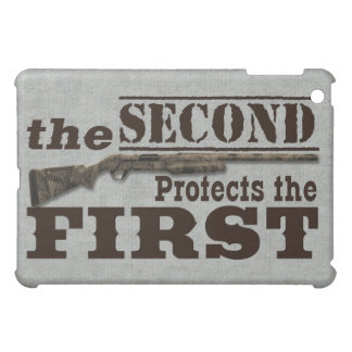 2nd Amendment Gun Rights and 1st Amendment Rights Case For The iPad Mini