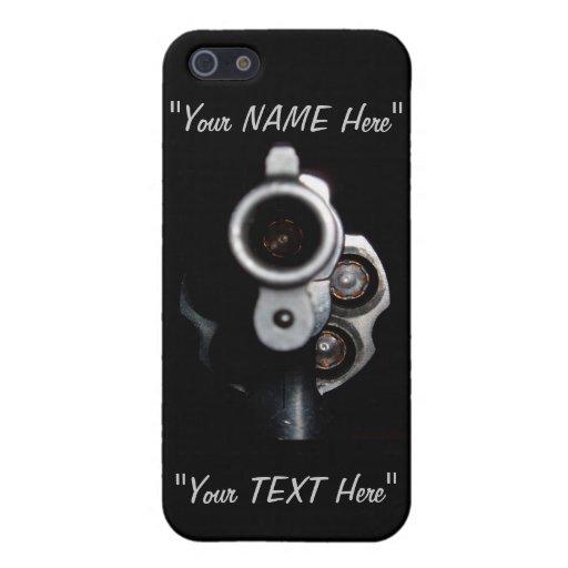 "2nd Amendment Gun Rights ""EDIT ME"" iPhone 5 Case"