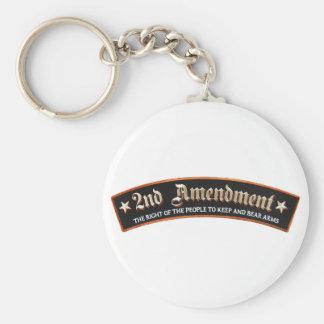 2nd amendment keychain