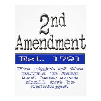 2nd Amendment Letterhead
