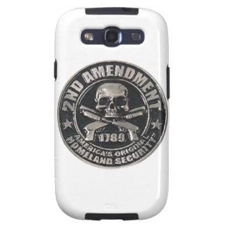2nd Amendment Medal Samsung Galaxy SIII Case