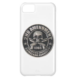 2nd Amendment Medal Cover For iPhone 5C