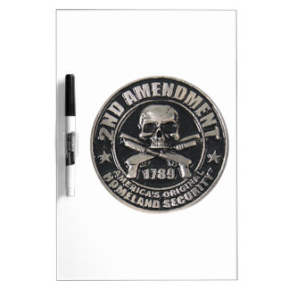2nd Amendment Medal Dry Erase Boards