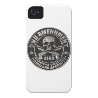 2nd Amendment Medal iPhone 4 Case-Mate Case