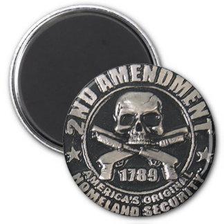 2nd Amendment Medal Magnet