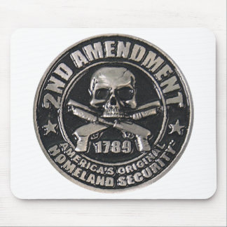 2nd Amendment Medal Mouse Pad