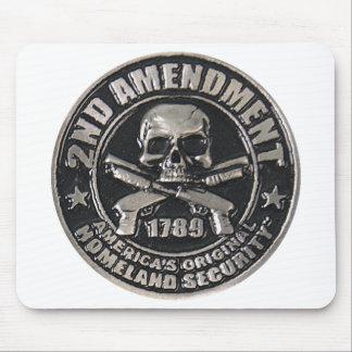 2nd Amendment Medal Mousepads