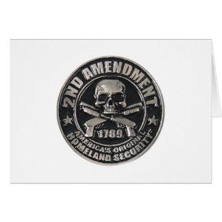 2nd Amendment Medal.png Greeting Card