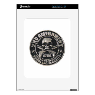 2nd Amendment Medal.png Decal For iPad