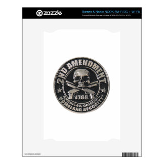 2nd Amendment Medal.png Decal For The NOOK