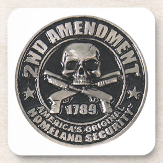 2nd Amendment Medal.png Drink Coaster